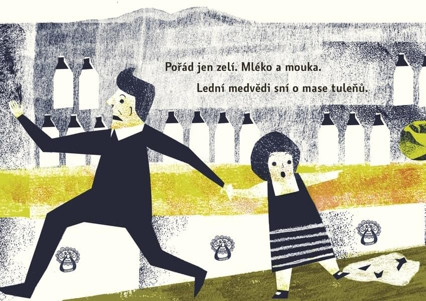 Dětská kniha Lední medvědi odcházejí za štěstím - Jana Šrámková ... d0acf76920