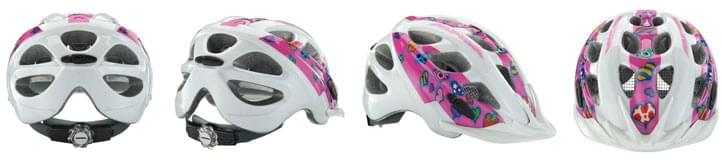4ca00f4e4 Kvalitní helmy mají možnost přizpůsobení prostoru kolem uší i nastavení  délky podbradního řemínku.