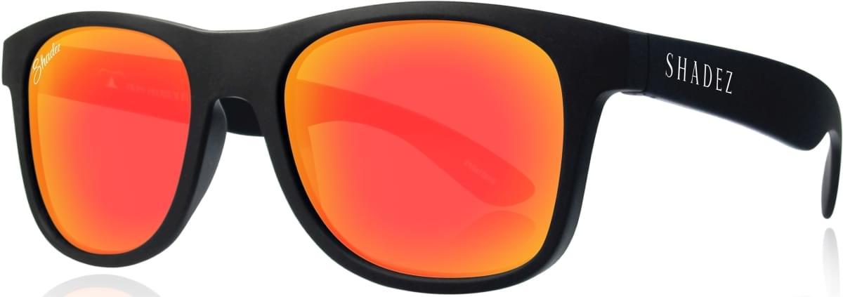 61f460afb8 Dětské sluneční brýle Shadez VIP Polarized - B-Red - Skibi Kids